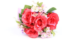 Fake roses,Plastic roses Stock Image