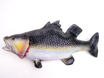 Fake Rubber Bass Fish Royalty Free Stock Photos