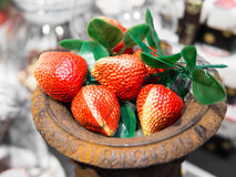 Fake Strawberry Royalty Free Stock Photography