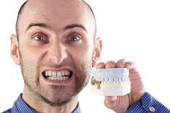 Fake Teeth Stock Photos