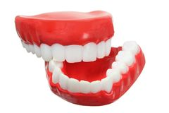 Fake Teeth Royalty Free Stock Photography