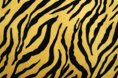 Fake tiger skin Royalty Free Stock Photography