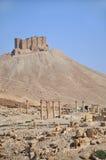 Fakhr-al-Din al-Maani Castle above Palmira ruins Royalty Free Stock Photos
