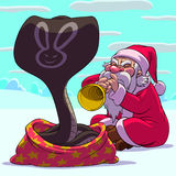 Fakir Santa Claus Stock Photos