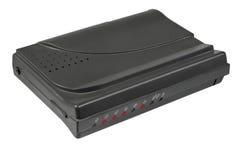 faksu zewnętrznie modem zdjęcia stock
