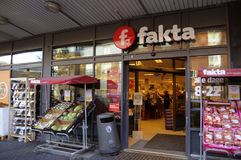 FAKTA食品店 图库摄影