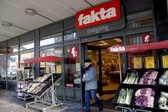 FAKTA GROCERY STORE Stock Photography