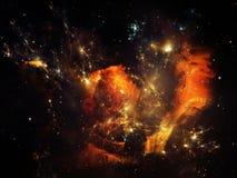 Faktisk krabbanebulosa Royaltyfri Bild