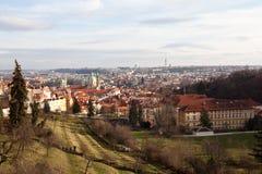 Faktiskt turnera av Prague för republiktown för cesky tjeckisk krumlov medeltida gammal sikt Arkivbilder