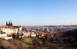 Faktiskt turnera av Prague för republiktown för cesky tjeckisk krumlov medeltida gammal sikt Royaltyfri Foto