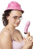 faktorski żeński wibrator Zdjęcia Royalty Free