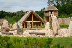 Να ανταλλάξει το faktory χωριό σε Pruszcz Gdanski Στοκ εικόνα με δικαίωμα ελεύθερης χρήσης