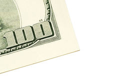 fakturera dollar hundra en Arkivbild