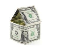 fakturera dollarhuset Fotografering för Bildbyråer
