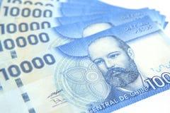 fakturerar den chilenska pesoen Royaltyfri Foto