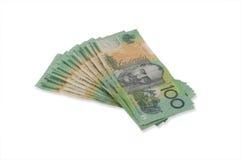 fakturerar dollar hundra en Royaltyfri Fotografi