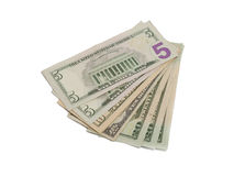 fakturerar dollaren Royaltyfri Bild