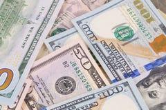fakturerar dollaren Fotografering för Bildbyråer