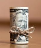 fakturerar dollaren Royaltyfria Bilder