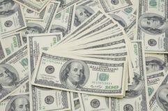 fakturerar dollaren luftade ut oss Royaltyfri Foto