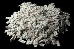 fakturerar dollaren mycket Royaltyfria Bilder