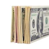 fakturerar dollaren oss Arkivbilder