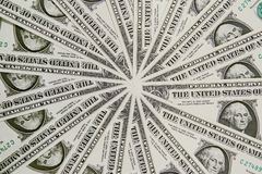 fakturerar dollaren oss arkivbild