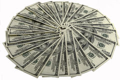 fakturerar dollarhundert Royaltyfria Bilder