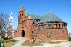Fakturowania Pamiątkowa biblioteka, uniwersytet Vermont, Burlington zdjęcia stock
