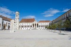 Fakultet av filosofi på universitetar av Coimbra Arkivbild