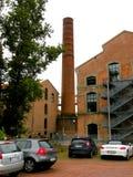 Fakultet av teknik i Ferrara, Italien Fotografering för Bildbyråer