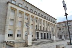 Fakultet Sztuki, Uniwersytet Coimbra Zdjęcia Stock