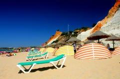 Falésia plaża zdjęcie stock