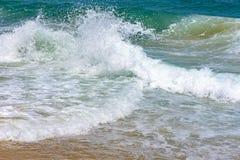 Fala łama na diabeł plaży zdjęcia stock