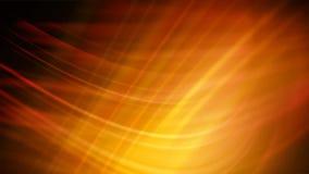 Fala świateł pomarańczowy kolor żółty podsyca ilustracji