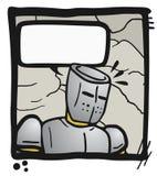 Fala cômica Imagens de Stock