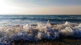 Fala Czarny morze Zdjęcia Royalty Free