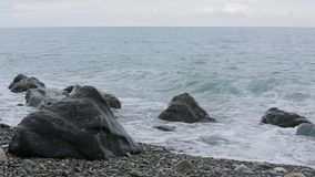 Fala Czarny morze zbiory wideo