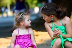 Fala das meninas Imagem de Stock
