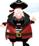 Fala do pirata dos desenhos animados ilustração royalty free
