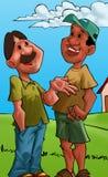 Fala dos amigos ilustração stock