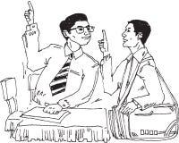 Fala dos homens   Imagem de Stock