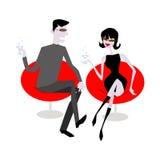 Fala dos pares ilustração royalty free