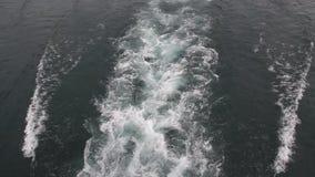 Fala formy łodzie zdjęcie wideo