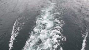 Fala formy łodzie zbiory wideo
