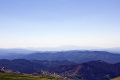 Fala Góry Fotografia Stock