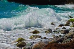 Fala morze Zdjęcie Stock