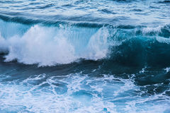 Fala morze Zdjęcia Royalty Free