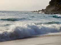 Fala morzem Zdjęcie Stock