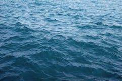 Fala na jezioro michigan Zdjęcie Stock